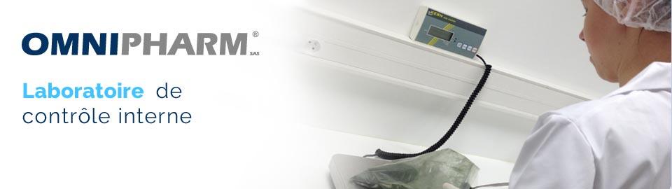 OMNIPHARM : laboratoire de contrôle interne