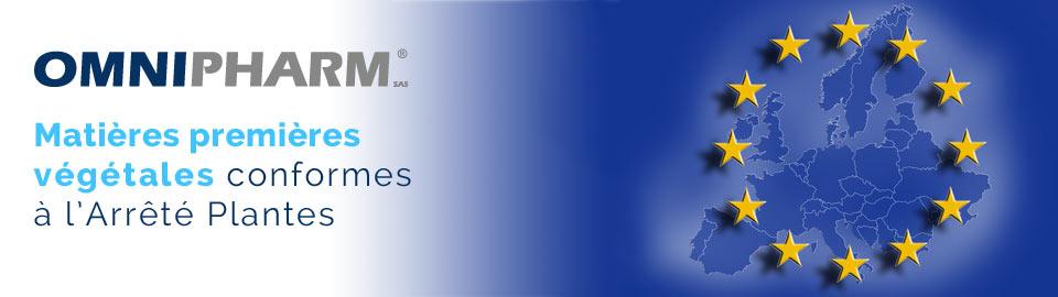 OMNIPHARM : matières premières végétales certifiées