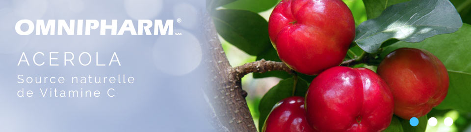 ACEROLA - Source naturelle de Vitamine C