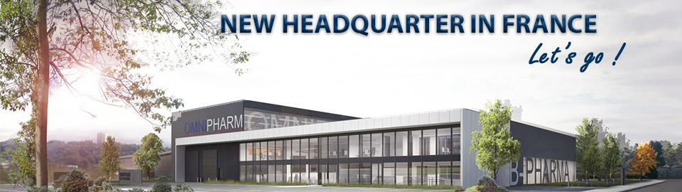 New headquarter in France - Omnipharm