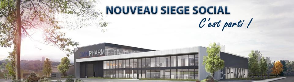 Nouveau Siège Social Omnipharm Chambéry